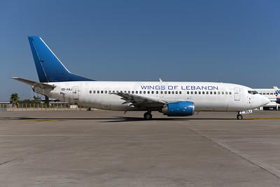 Wings of Lebanon Boeing 737-3Q8 OD-HAJ (msn 26313) AYT (Ton Jochems). Image: 942253.