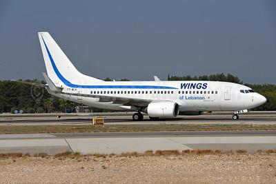 Wings of Lebanon Boeing 737-7K5 WL T7-WLA (msn 35277) AYT (Ton Jochems). Image: 943629.