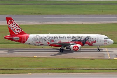 AirAsia (Malaysia) Airbus A320-216 9M-AHJ (msn 3477) (BIG Loyalty Programme) SIN (Michael B. Ing). Image: 934890.