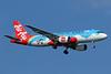 "AirAsia's 2017 ""HongHe Nativeland"" logo jet"