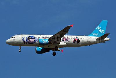 AirAsia (Malaysia) Airbus A320-216 9M-AFQ (msn 3018) (ZOOM!) BKK (Ken Petersen). Image: 908722.