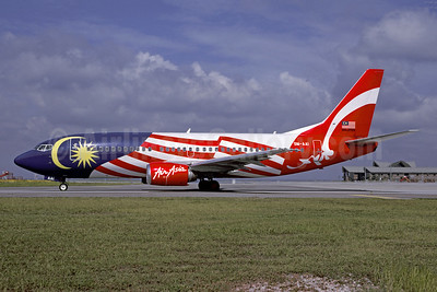 AirAsia's 2003 Malaysian flag special livery