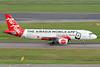 "AirAsia's 2014 ""Mobile App"" logo jet"