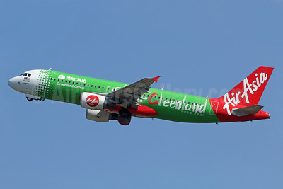 "AirAsia's 2016 ""China Greenland"" special livery"
