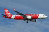 AirAsia (Malaysia) Airbus A320-216 WL 9M-AQV (msn 5619) (Now Everyone Can Fly) SIN (Pascal Simon). Image: 939261.