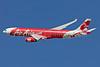 AirAsia X (AirAsia.com) Airbus A330-343 F-WWYY (9M-XXG) (msn 1131) TLS (Guillaume Besnard). Image: 905483.