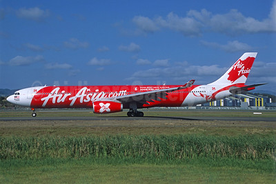 AirAsia X (AirAsia.com) Airbus A330-343 9M-XXE (msn 1075) (Jacques Guillem Collection). Image: 939295.
