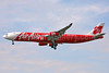 AirAsia X (AirAsia.com) Airbus A340-313 9M-XAB (msn 273) STN (Keith Burton). Image: 902496.