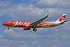 "AirAsia X's new ""Xcintilating PhoeniX"" logo jet"