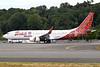 Batik Malaysia Boeing 737-8JP WL 9M-LNZ (msn 38303) BFI (Joe G. Walker). Image: 933540.