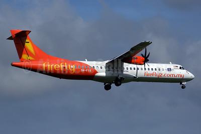 Firefly (fireflyz.com.my) ATR 72-212A (ATR 72-500) 9M-FYB (msn 814) (Celebrating 1 Malaysia Truly Asia) PEN (Rob Finlayson). Image: 925518.