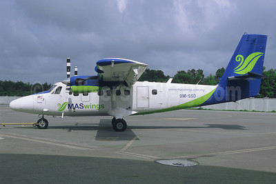 MASwings Viking Air DHC-6-400 Twin Otter 9M-SSD (msn 893) BKI (Jacques Guillem Collection). Image: 942296.