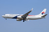 Malaysia Airlines Boeing 737-8H6 WL 9M-MXP (msn 40153) CGK (Michael B. Ing). Image: 938800.