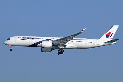 First A350, delivered on November 29, 2017
