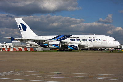 Malaysia Airlines Airbus A380-841 9M-MNA (msn 078) LHR. Image: 937538.