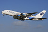 Malaysia Airlines Airbus A380-841 9M-MNB (msn 081) LHR (SPA). Image: 926733.