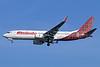 Malindo Air Boeing 737-8GP WL 9M-LNC (msn 38314) (Batik Air colors) CGK (Michael B. Ing). Image: 938425.