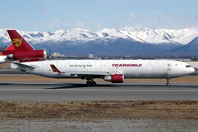 Transmile Air Services McDonnell Douglas MD-11 (F) 9M-TGS (msn 48486) ANC (Stephen Tornblom). Image: 924822.