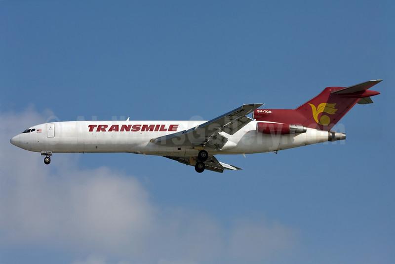 Transmile Air Services Boeing 727-225 (F) 9M-TGM (msn 22549) SGN (Ole Simon). Image: 904435.
