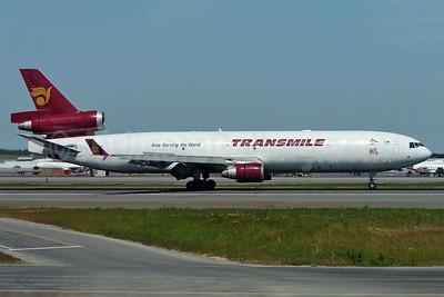 Transmile Air Services McDonnell Douglas MD-11 (F) 9M-TGR (msn 48485) ANC (TMK Photography). Image: 924821.