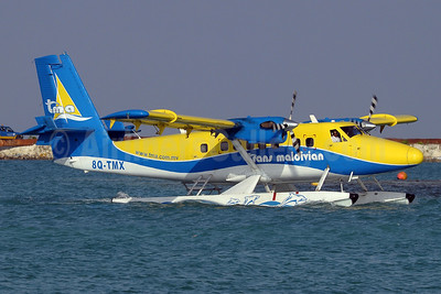 Trans Maldivian Airways-TMA de Havilland Canada Viking DHC-6-400 Twin Otter 8Q-TMX (msn 848) MLE (Paul Denton). Image: 911851.