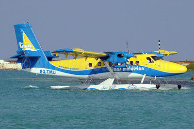 Trans Maldivian Airways-TMA de Havilland Canada DHC-6-300 Twin Otter 8Q-TMU (msn 467) MLE (Paul Denton). Image: 911848.