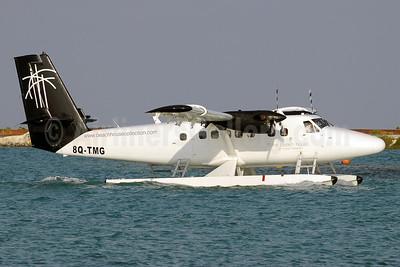 Trans Maldivian Airways (TMA) de Havilland Canada DHC-6-300 Twin Otter 8Q-TMG (msn 597) (The Beach House at Iruveli Maldives) MLE (Paul Denton). Image: 911840.