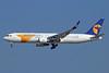 Mongolian Airlines (MIAT) Boeing 767-34G ER WL JU-1021 (msn 41519) SIN (Michael B. Ing). Image: 924808.