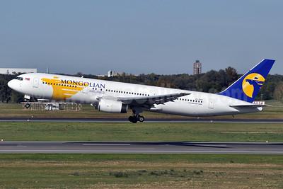 Mongolian Airlines (MIAT) Boeing 767-3W0 ER JU-1011 (msn 28149) TGL (Tony Storck). Image: 910428.