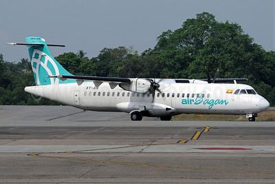 Air Bagan ATR 72-212A (ATR 72-500) XY-AIK (msn 592) RGN (Richard Vandervord). Image: 922935.