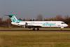 Air Bagan-Inter Airlines Fokker F.28 Mk. 0100 TC-IED (msn 11420) HAM (Gerd Beilfuss). Image: 901973.