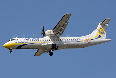 Air KBZ ATR 72-212A (ATR 72-500) XY-AIW (msn 582) (27th Sea Games 2013) RGN (Richard Vandervord). Image: 922969.