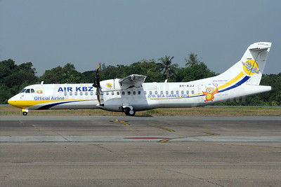 Air KBZ ATR 72-212A (ATR 72-600) XY-AJJ (msn 1085) (27th Sea Games 2013) RGN (Richard Vandervord). Image: 922971.