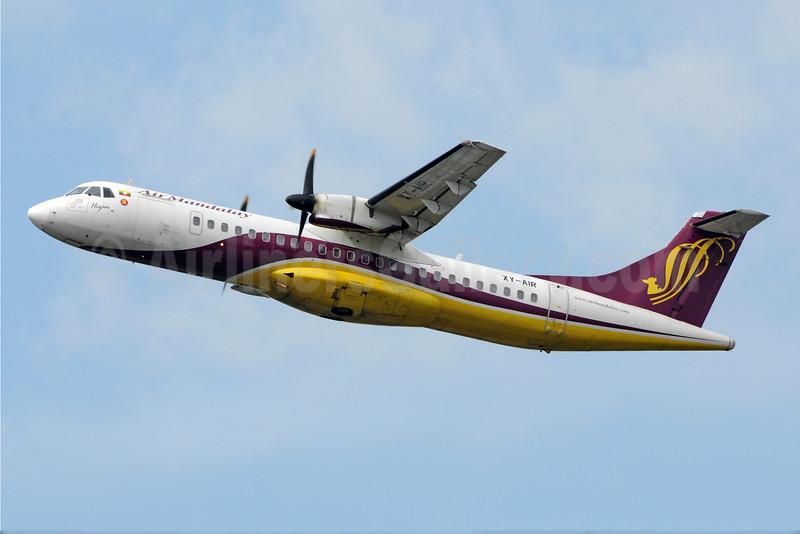Air Mandalay ATR 72-212 XY-AIR (msn 467) RGN (Richard Vandervord). Image: 923114.