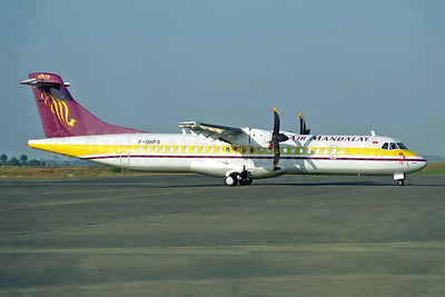 Air Mandalay ATR 72-212 F-OHFS (msn 393) RGN (Rob Finlayson). Image: 943406.