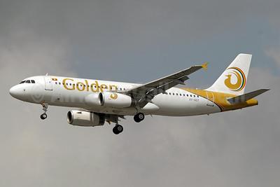 Golden Myanmar Airlines Airbus A320-232 XY-AGT (2128) BKK (Paul Denton). Image: 922365.