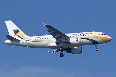 MAI-Myanmar Airways International Airbus A319-111 XY-AGV (msn 1247) BKK (Michael B. Ing). Image: 934613.