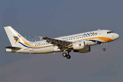 MAI-Myanmar Airways International (BH Air) Airbus A319-112 LZ-AOA (msn 3139) BKK (Kok Chwee K.C. Sim). Image: 913098.