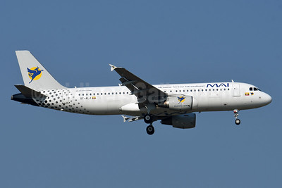 MAI-Myanmar Airways International Airbus A320-214 XY-ALJ (msn 3242) BKK (Karl Cornil). Image: 952690.