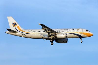 MAI-Myanmar Airways International Airbus A320-231 XY-AGM (msn 295) BKK (Jay Selman). Image: 909476.