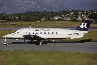 Buddha Air Beech 1900D 9N-AEE (msn UE-286) KTM (Richard Vandervord). Image: 926200.