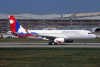 Nepal Airlines Airbus A320-233 WL D-AVVI (9N-AKX) (msn 6555) XFW (Jacques Guillem Collection). Image: 933737.