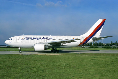 Royal Nepal Airlines Airbus A310-304 D-APON (msn 472) ORY (Jacques Guillem). Image: 953785.
