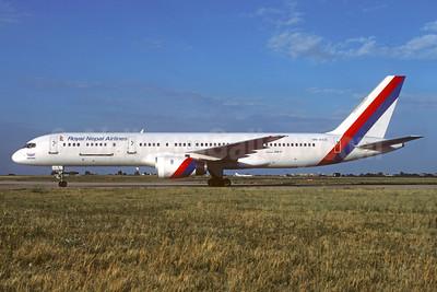 "Airline Color Scheme - Introduced 1984 - Named ""Gandaki"""
