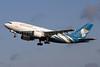 Oman Air Airbus A310-304 CS-TEI (msn 495) LGW (Terry Wade). Image: 901651.