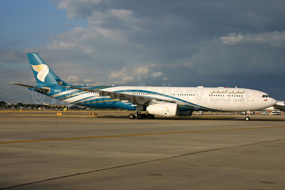Oman Air Airbus A330-343 A40-DB (msn 1044) LHR (SPA). Image: 933020.