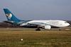 Oman Air Airbus A310-304 CS-TEI (msn 495) LGW (Antony J. Best). Image: 902987.