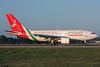 Oman Air Airbus A310-304 CS-TEX (msn 565) LGW (Antony J. Best). Image: 900163.
