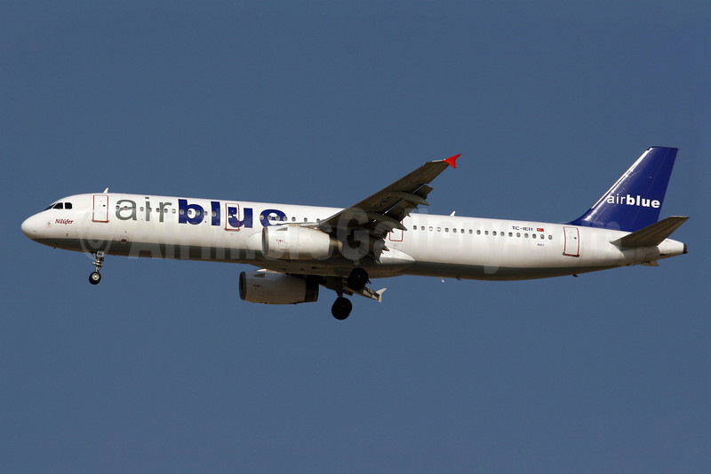 Airblue (Inter Airlines) Airbus A321-231 TC-IEH (msn 963) DXB (Konstantin von Wedelstaedt). Image: 904257.