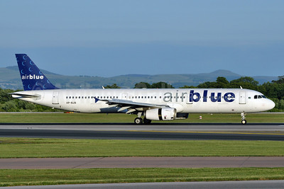 Airblue Airbus A321-231 AP-BJB (msn 1218) MAN (Richard Vandervord). Image: 905271.